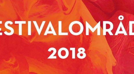 Festivalområde 2018